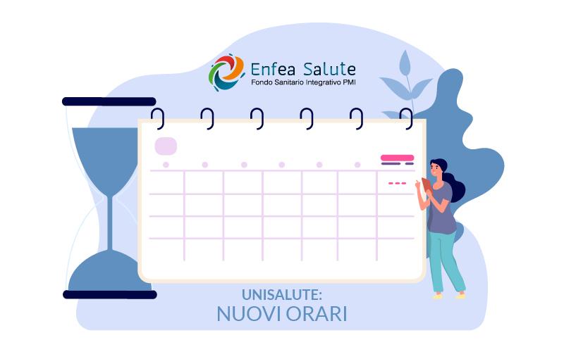 Centrale Operativa UniSalute: variazione orari
